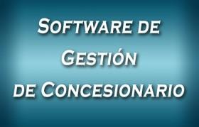 Software de Gestión de Concesionario