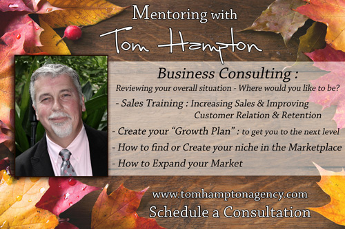 Mentoring with Tom